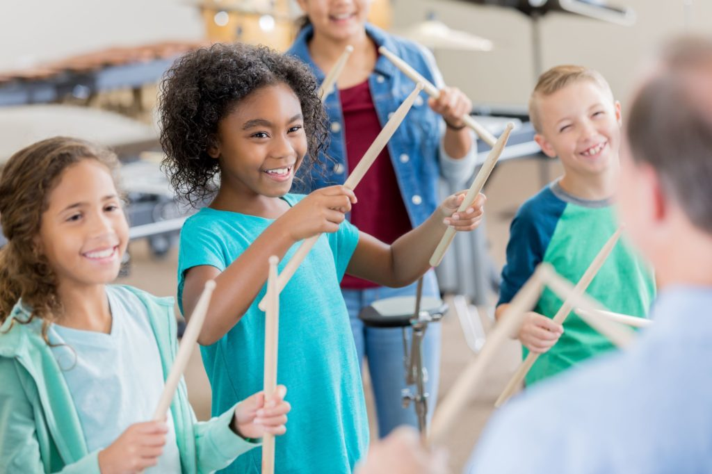 Band Camp Junior is a week-long day camp for kids ages 7-12 (grades 2-7)